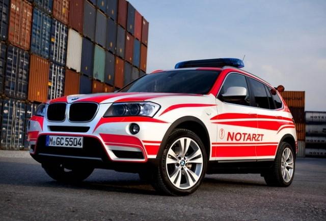 BMW la RETTmobil expo