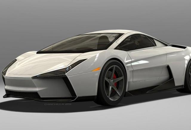 Lamborghini Indomable Concept va servi ca baza pentru un nou supercar