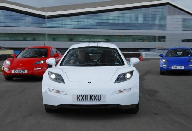Tesla da-te la o parte, Delta Motorsport lanseaza E-4 Electric Coupe