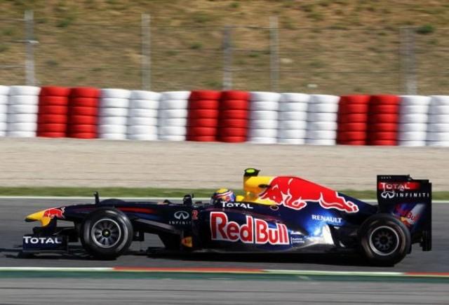 Webber domina primele antrenamente de la Barcelona