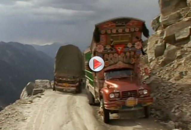 VIDEO: Incredibilul drum al iadului din Pakistan