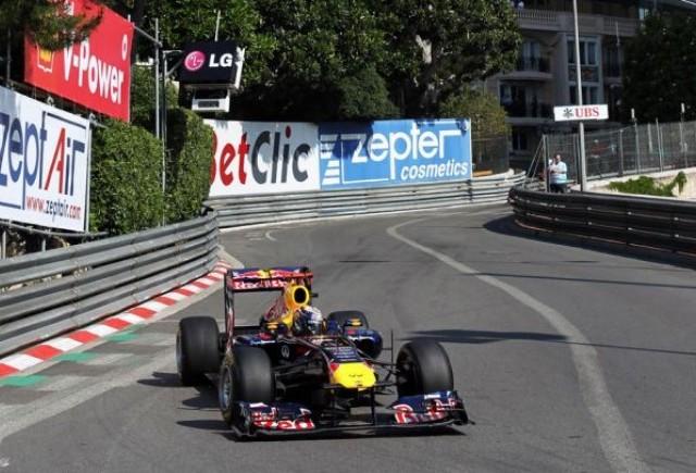 Vettel incepe cu dreptul antrenamentele de la Monaco