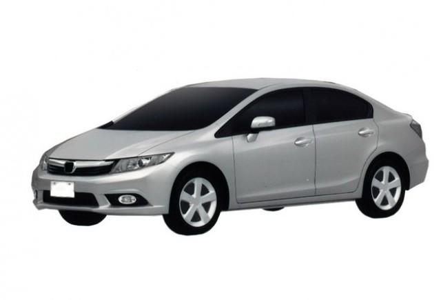 Noile modele  Honda Civic Sedan şi Coupe pentru Europa
