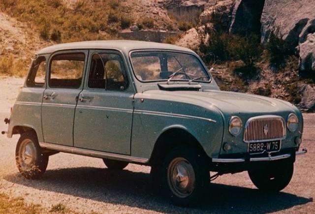 Competiţie de Design, premiu: un  Renault 4L 1965