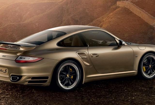 Porsche aniversează 10 ani în China, cu 911 Turbo S Special Edition