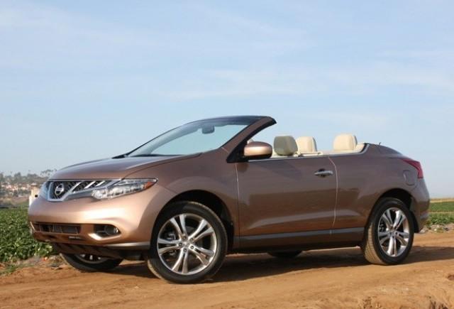 Nissan Murano Cross Cabriolet influenţată în mod semnificativ de cutremurul din Japonia