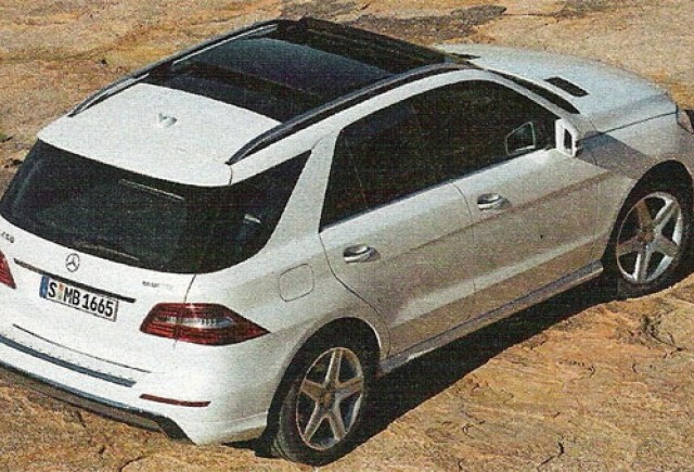 Imagini cu Mercedes-Benz M-Class 2012