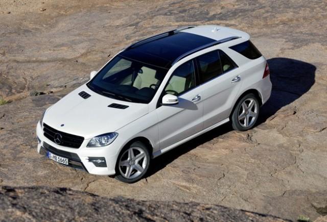 OFICIAL: primele fotografii cu Mercedes-Benz ML Class