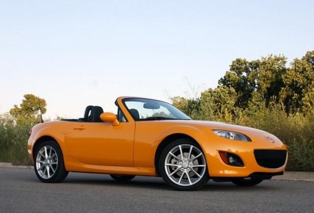 ZVON: Mazda  MX-5 Miata va fi cu 180 de kilograme mai uşoară