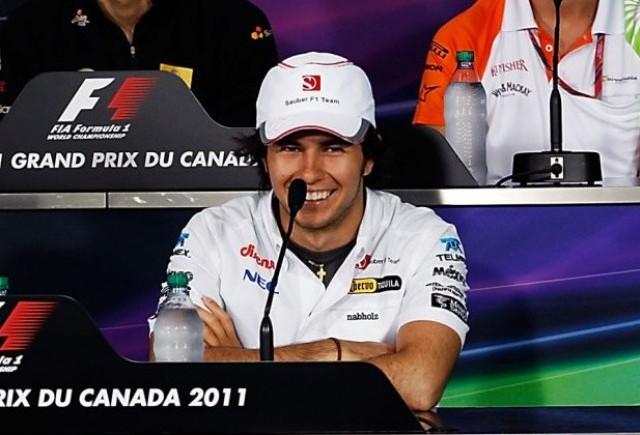 Perez va concura in Canada