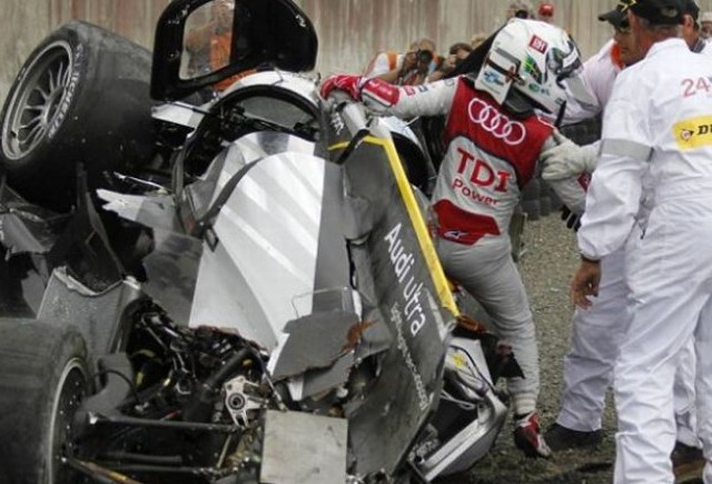 VIDEO: Accident teribil la Le Mans! Allan McNish a scapat miraculos!