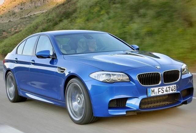 Noul BMW M5, agresivul de 100.000€