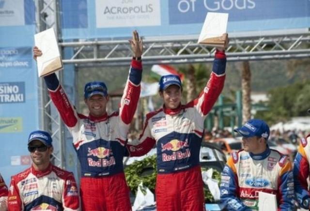 Ogier spera la titlul mondial dupa victoria din Grecia