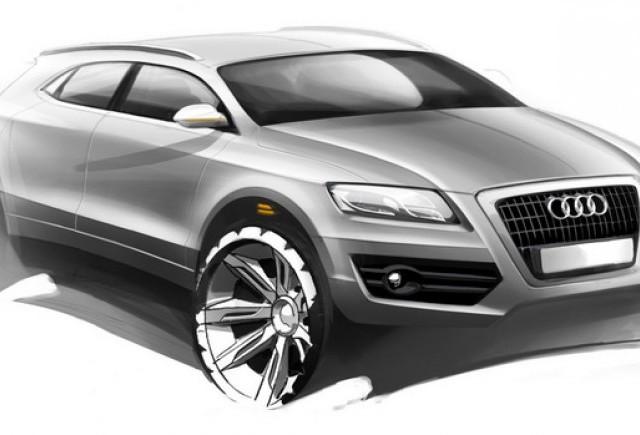 Q4 este primul din cele trei noi viitoare SUV-uri Audi