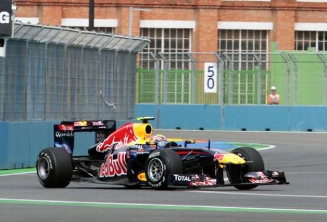 Webber domina primele antrenamente de la Valencia