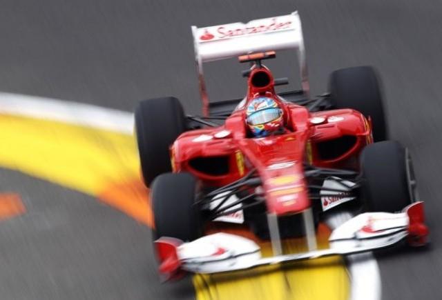 Alonso-Hamilton-Vettel, primii in antrenamente 2 la Valencia