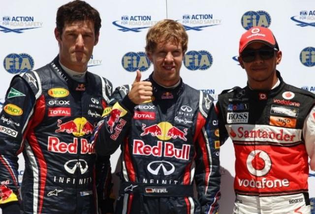 Vettel va pleca din pole-position la Valencia