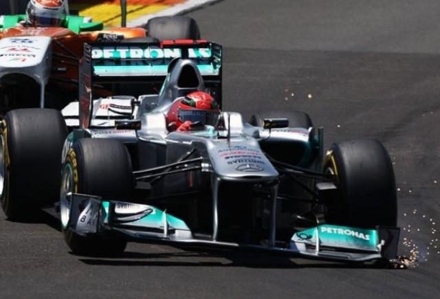 Schumacher isi recunoaste greseala de la Valencia
