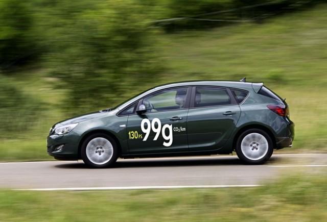 Cel mai ecologic şi mai economic Opel Astra din toate timpurile