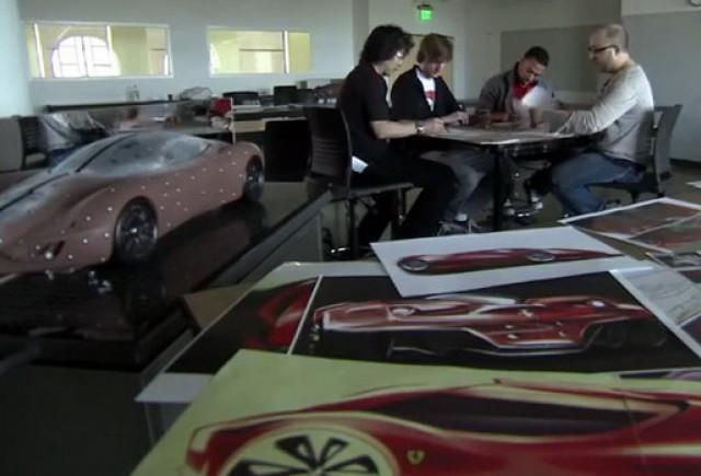VIDEO: Proiectul Ferrari al Colegiului de Studii Creative din Detroit