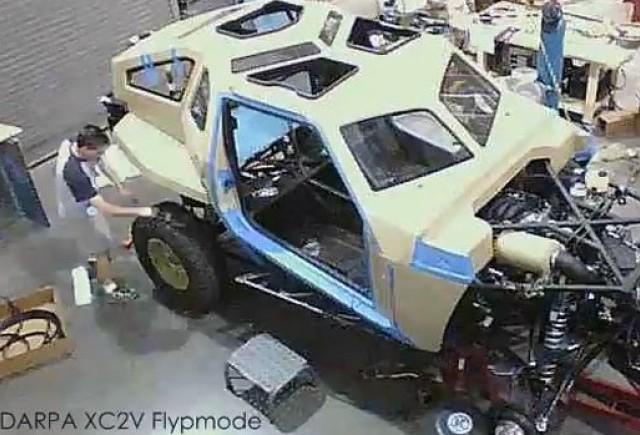 VIDEO: DARPA Selectează XC2V pentru înlocuirea Humvee