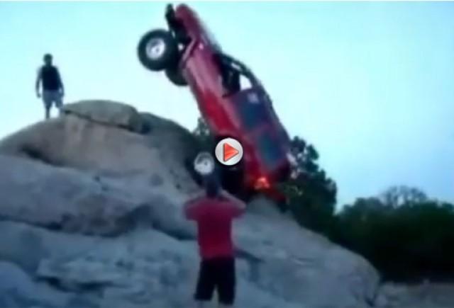 VIDEO: Cum poţi să te caţeri cu maşina pe munte