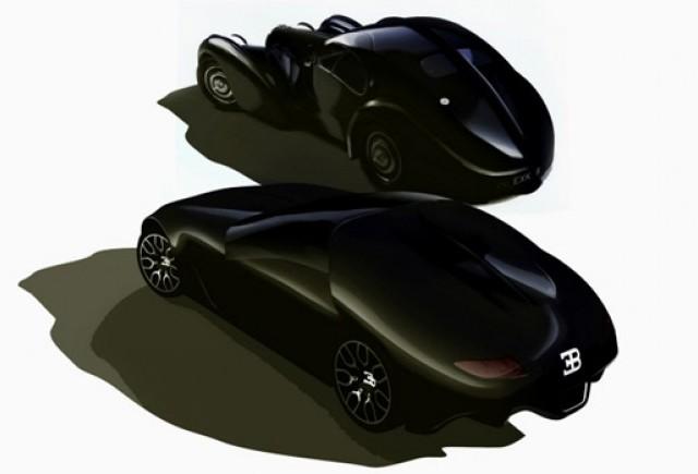 Două maşini la preţ de una: Conceptul  Bugatti Atless