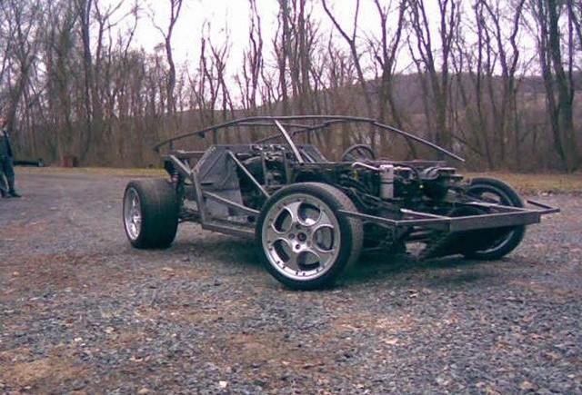 Fiero  Lamborghini Diablo cu motor BMW V12