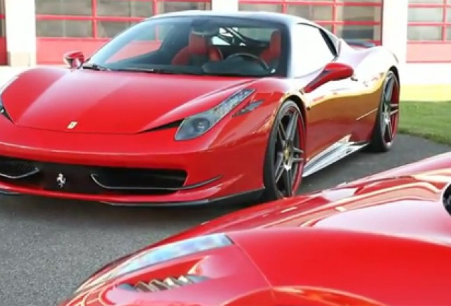Ferrari 458 Italia tunat de Novitec Rosso