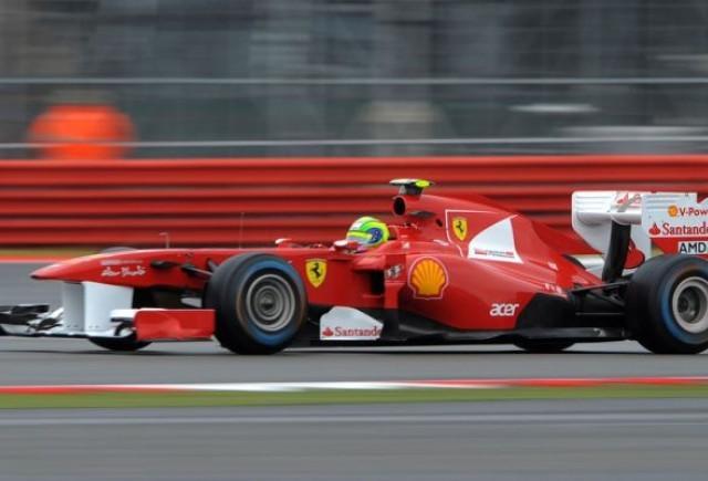 Massa, cel mai rapid in sesiunea a doua de antrenamente de la Silverstone