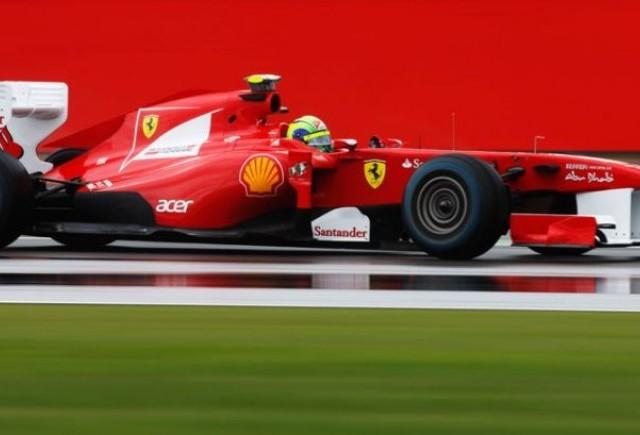 Massa, modest dupa primele antrenamente de la Silverstone