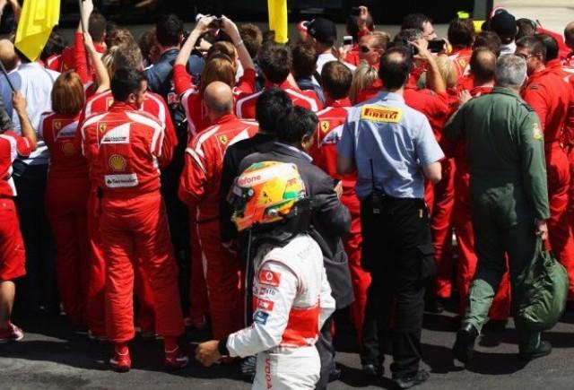 Hamilton: Finalul de la Silverstone a fost unul nebun