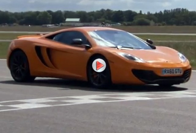 VIDEO: McLaren MP4-12C - al doilea cel mai rapid timp realizat la Top Gear