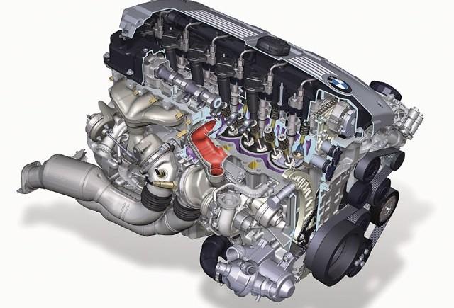 ZVON BMW lucreaza la un motor tripleturbo diesel