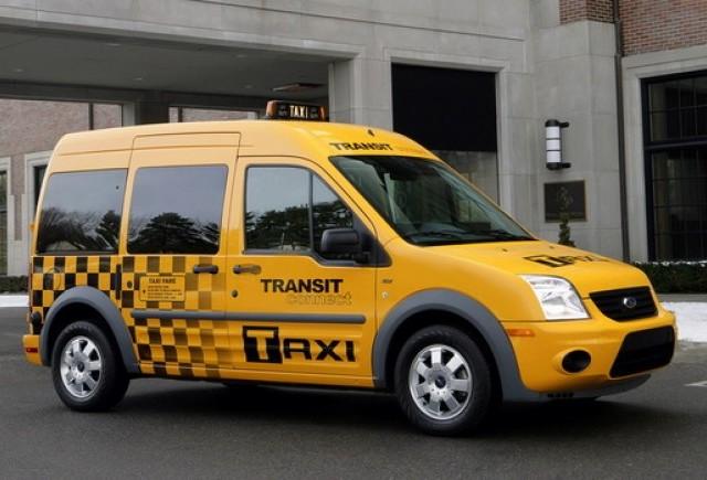 OFICIAL: Ford Transit Connect se alatura flotei de taxiuri newyorkeze