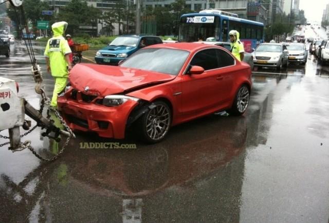 Primul BMW M1 Coupe facut praf!