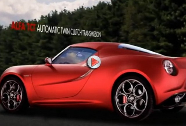 VIDEO: Film promotional Noua Alfa Romeo 4C