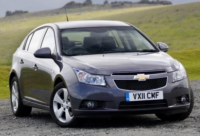 Noul Chevrolet Cruze hatchback lansat in Marea Britanie