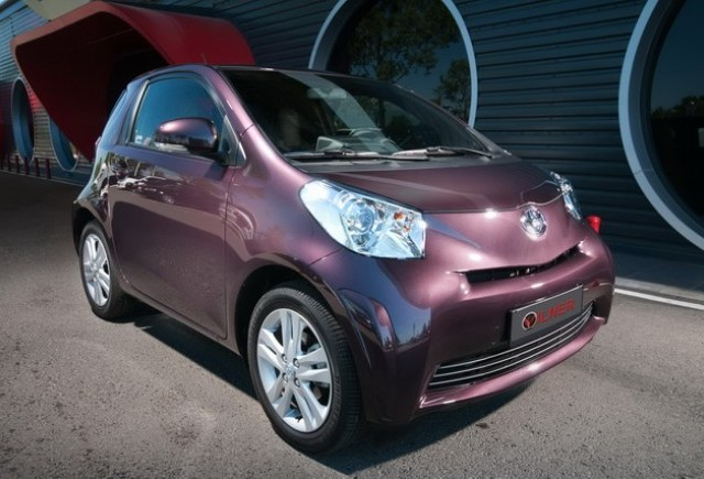 Compania bulgara Vilner  redefineste Toyota iQ