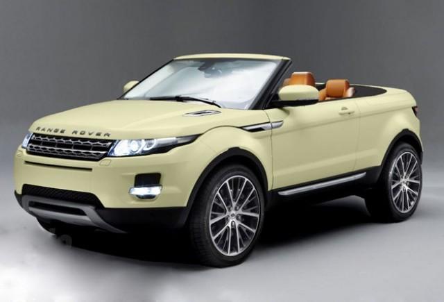 ZVON: Range Rover Evoque decapotabil