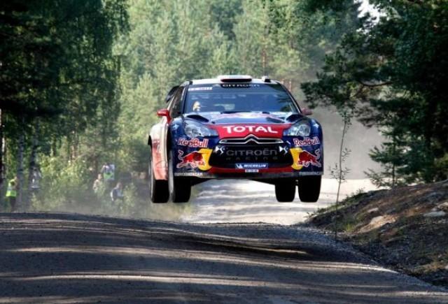 Sebastien Loeb conduce Raliul Finlandei dupa primele cinci probe speciale