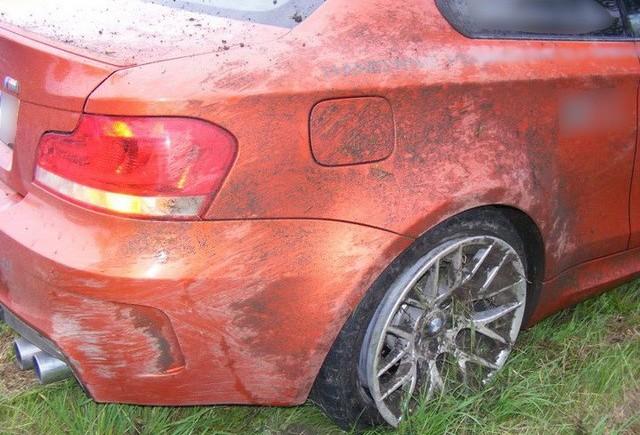 Al doilea accident cu BMW M1 Coupe