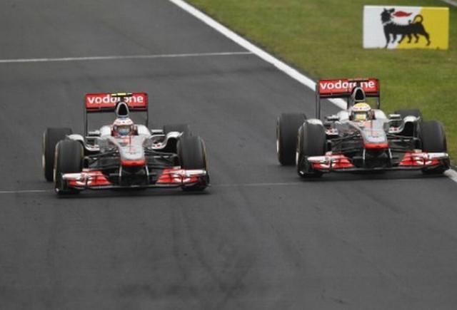 McLaren: Hamilton si Button sunt liberi sa se lupte in continuare