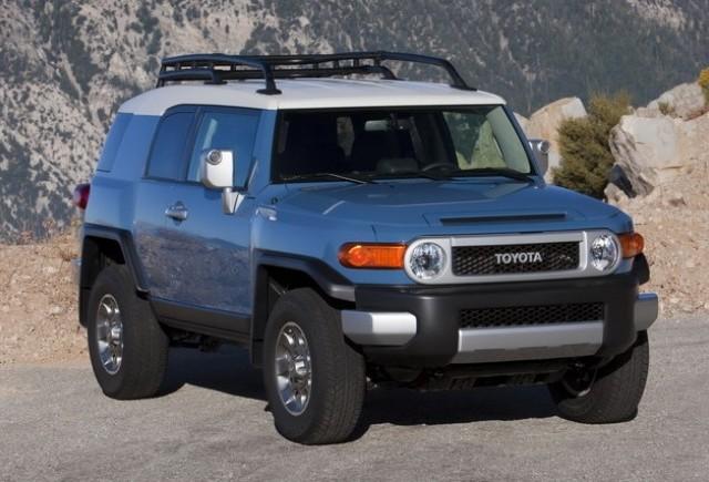 Toyota anunta preturile modelelor FJ Cruiser, Highlander si Land Cruiser