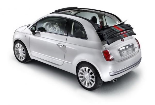 Fiat 500 by Gucci se dezbraca