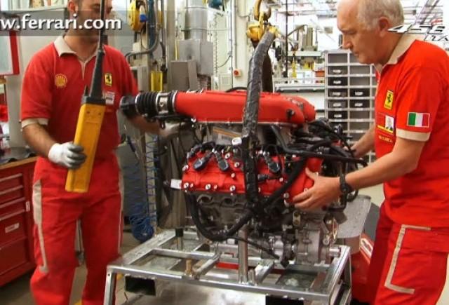 VIDEO: Cum se construieste un motor Ferrari