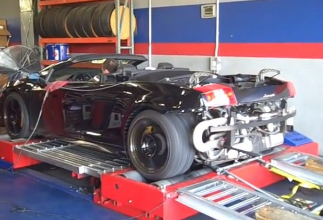VIDEO: Heffner Twin Turbo Lamborghini Gallardo Spyder