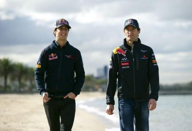 Ricciardo l-ar putea inlocui pe Webber la Red Bull