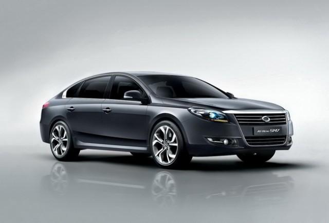 Noi fotografii cu noul Sedan SM7