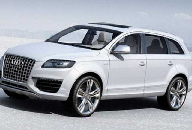 ZVON: Audi pregateste Q6 Crossover pentru a bate BMW X6